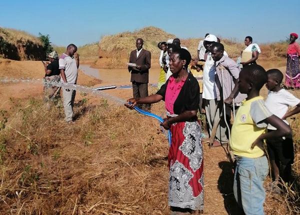 Wala - solar irrigation demonstration
